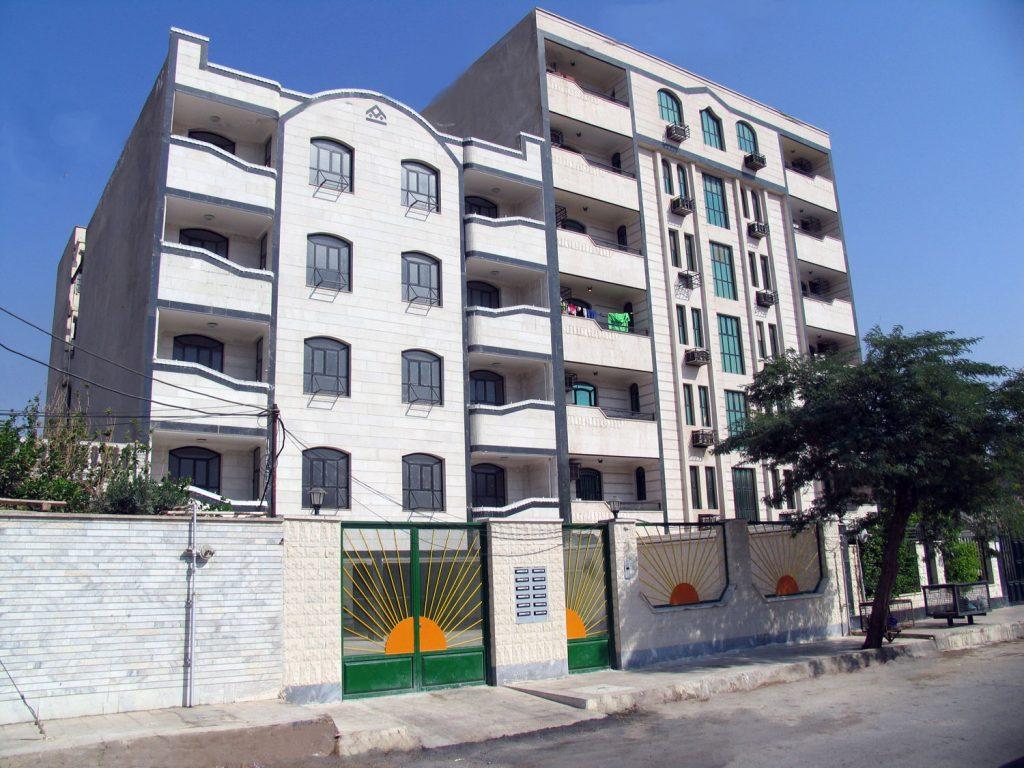 پروژه مسکونی 12 واحدی شقایق