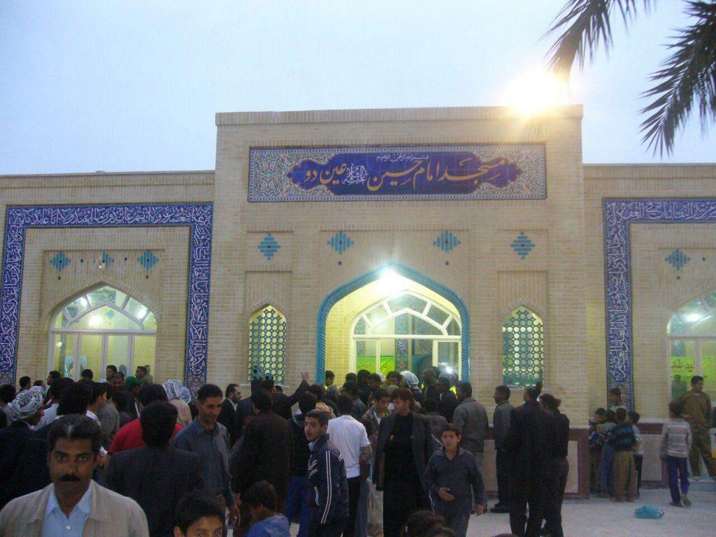 مسجد روستای عین 2 اهواز